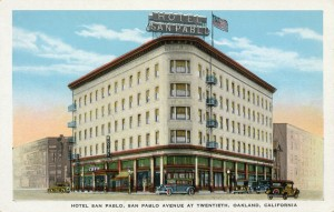San Pablo Hotel, San Pablo Avenue at Twentieth, Oakland, California